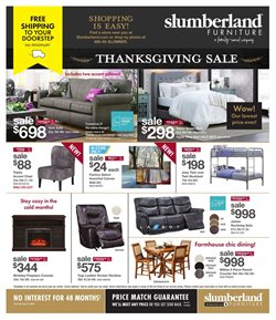 Home & Furniture offers in the Slumberland Furniture catalogue in Janesville WI ( Expires tomorrow )