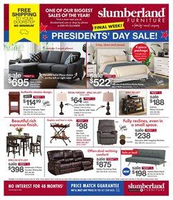 Slumberland Furniture catalogue ( Expired )