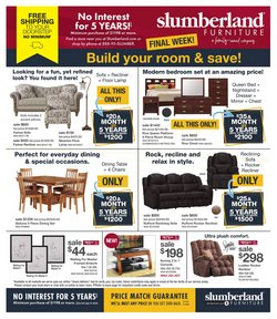 Slumberland Furniture catalogue ( Published today )