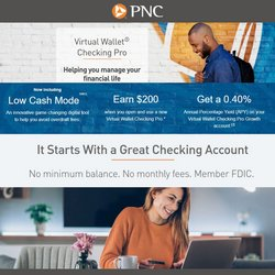 Banks deals in the PNC Financial Services catalog ( More than a month)
