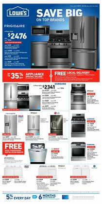 Lowe's deals in the Fontana CA weekly ad