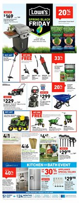 Lowe's deals in the Corona CA weekly ad