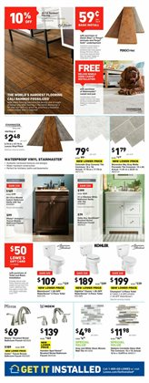 Plants deals in the Lowe's weekly ad in New York