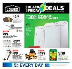 Lowe's deals in the Houston TX weekly ad
