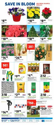 Plants deals in the Lowe's weekly ad in Kent WA