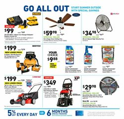Lawn deals in the Lowe's weekly ad in New York