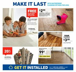 Tile deals in the Lowe's weekly ad in Johnstown PA
