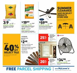 Garden deals in the Lowe's weekly ad in Sioux Falls SD