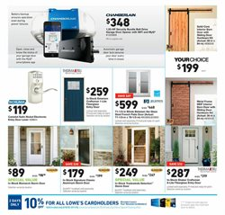 Craftsman deals in the Lowe's weekly ad in Columbus IN