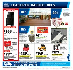 Keys deals in the Lowe's weekly ad in Johnstown PA