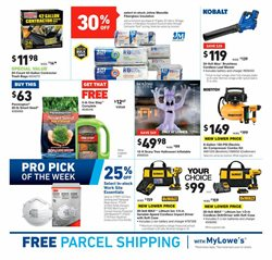 Trees deals in the Lowe's weekly ad in Muskegon MI