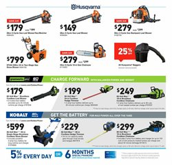 Trimmer deals in the Lowe's weekly ad in New York