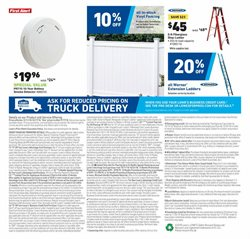 Ladder deals in the Lowe's weekly ad in Garden Grove CA