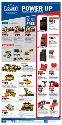 Tools & Hardware deals in the Lowe's weekly ad in Fontana CA