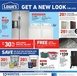 Tile deals in the Lowe's weekly ad in Warren OH