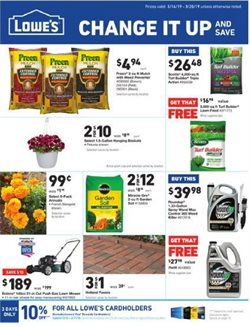 Lowe's deals in the Riverside CA weekly ad