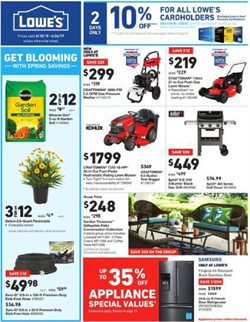 Lowe's deals in the Idaho Falls ID weekly ad