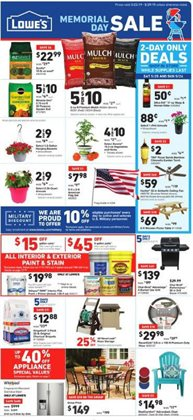 Lowe's deals in the Chicago IL weekly ad