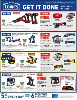Tools & Hardware deals in the Lowe's weekly ad in Carlsbad CA