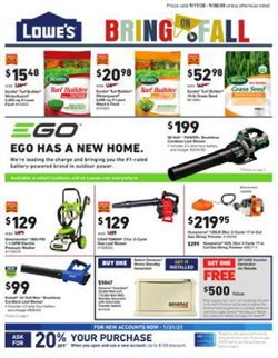 Lowe's catalogue in Miami FL ( Expires tomorrow )