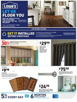 Lowe's catalog ( Published today)