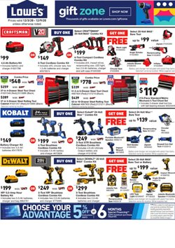 Tools & Hardware offers in the Lowe's catalogue in New York ( 2 days ago )