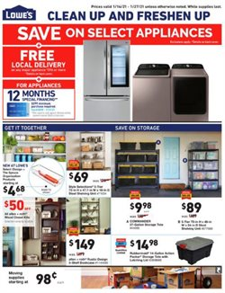 Tools & Hardware offers in the Lowe's catalogue in Toms River NJ ( 3 days left )