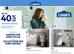 Lowe's catalogue in New York ( Expired )