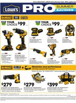Lowe's deals in the Lowe's catalog ( 1 day ago)
