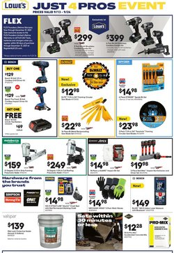 Lowe's deals in the Lowe's catalog ( 5 days left)