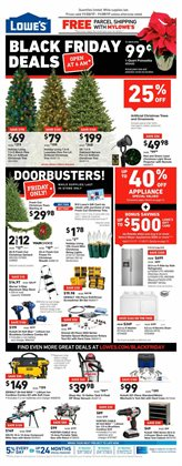 Lowe's deals in the Erie PA weekly ad