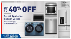 Lowe's deals in the New York weekly ad