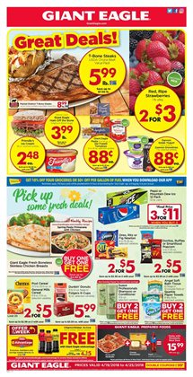 Chicken deals in the Giant Eagle weekly ad in Erie PA