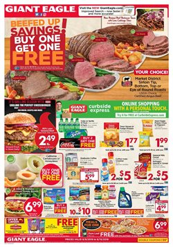 Grocery & Drug deals in the Giant Eagle weekly ad in Johnstown PA