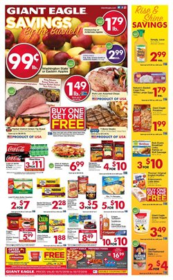 Furniture deals in the Giant Eagle weekly ad in Erie PA