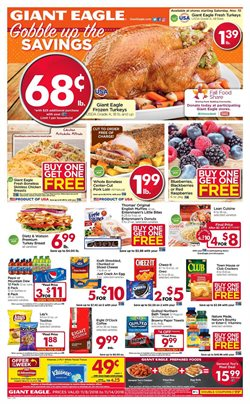 Grocery & Drug deals in the Giant Eagle weekly ad in Newark OH