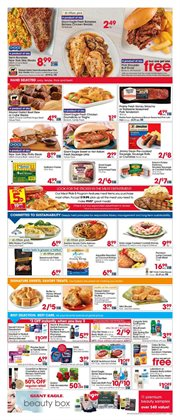 Grocery & Drug deals in the Giant Eagle weekly ad in Akron OH