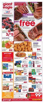 Grocery & Drug deals in the Giant Eagle weekly ad in Cleveland OH