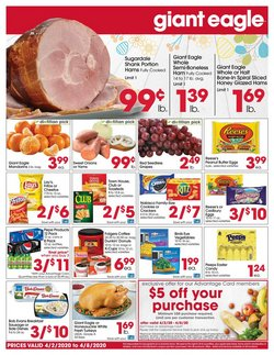 Giant Eagle catalogue ( Expires today )