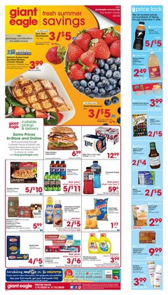 Grocery & Drug offers in the Giant Eagle catalogue in Pittsburgh PA ( 1 day ago )