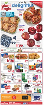 Grocery & Drug offers in the Giant Eagle catalogue in Elyria OH ( 2 days left )