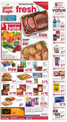 Grocery & Drug offers in the Giant Eagle catalogue in Erie PA ( 2 days ago )