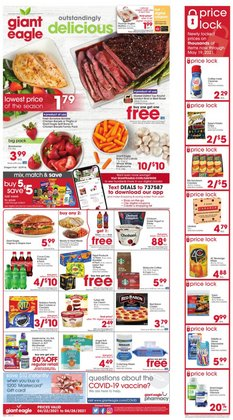 Giant Eagle catalogue ( Published today )