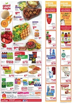Grocery & Drug deals in the Giant Eagle catalog ( Expires tomorrow)