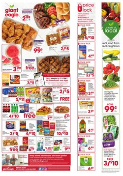 Grocery & Drug deals in the Giant Eagle catalog ( Expires today)