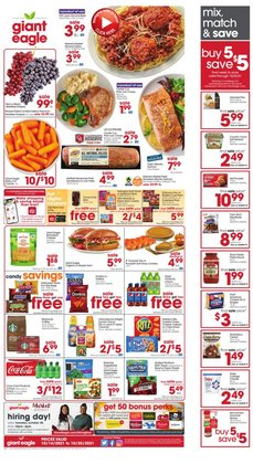 Giant Eagle deals in the Giant Eagle catalog ( 1 day ago)