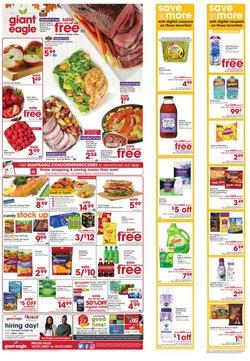 Grocery & Drug deals in the Giant Eagle catalog ( 2 days left)