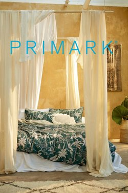 Primark catalogue ( More than a month )