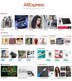 Department Stores offers in the Aliexpress catalogue in Fairfield CA ( 3 days left )