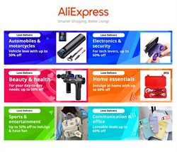Department Stores offers in the Aliexpress catalogue in Canton OH ( Expires tomorrow )